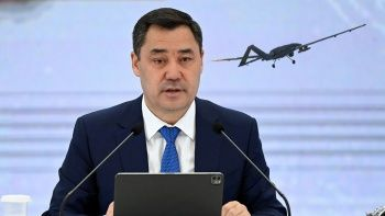 Kırgızistan Cumhurbaşkanı Caparov Türkiye'den SİHA alacaklarını açıkladı
