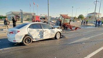 Konya'daki feci kaza kamerada: 1 ölü, 2 yaralı