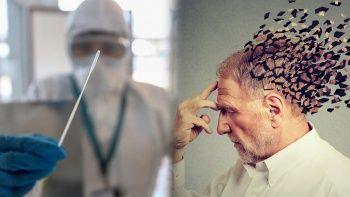 Beyin sisi, düşünme ve konsantre bozukluğu Kovid'den sonra devam ediyor