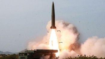 Kuzey Kore'nin balistik füzesi Japonya açıklarına düştü