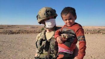 Mehmetçik'ten Suriye'ye yardım eli