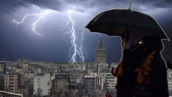 Meteoroloji'den sağanak uyarısı: İstanbul dahil birçok kentte etkili olacak