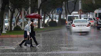 Meteoroloji'den sel, su baskını ve kuvvetli rüzgar uyarısı (14 Ekim hava durumu)
