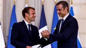Miçotakis Fransa'yı arkasına alıp Türkiye'yi işaret etti: Fransa bizi korur