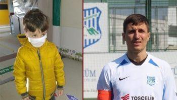 Oğlunu boğarak öldürdüğü öne sürülen eski futbolcu Cevher Toktaş hakim karşısında