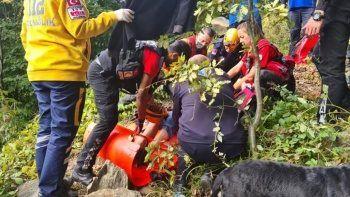 Ormanda kaybolan yaşlı adamın hayatını köpek kurtardı