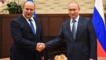 Putin ilk kez Naftali Bennet'i kabul etti