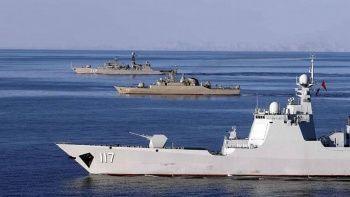 Rusya ve Çin Japon Denizi'nde ortak tatbikata başladı