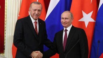 Son dakika! Cumhurbaşkanı Erdoğan ile Putin görüştü