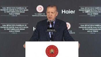 Cumhurbaşkanı Erdoğan'dan elektrikli otomobil mesajı: Hedefimiz Avrupa'nın araç üssü olmak