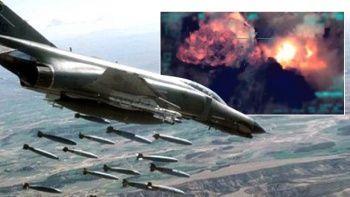 Son dakika! Irak'ın kuzeyine hava harekatı: 3 PKK'lı terörist öldürüldü