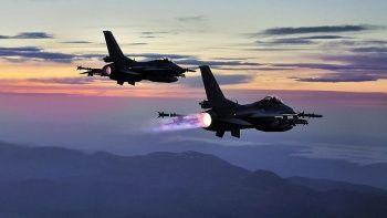 Irak'ın kuzeyine hava harekatı: 5 PKK'lı terörist öldürüldü