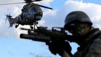 Saldırı hazırlığındaki PKK'lı teröristler öldürüldü