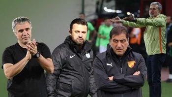 Süper Lig'de teknik direktör kıyımı: Geçen sezonu 2'ye katladı