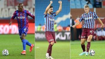 Süper Lig'in en çok gol atan üçlüsü Trabzonspor'da