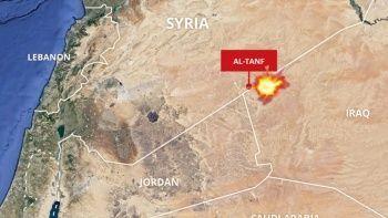 Suriye'de ABD üssüne drone saldırısı
