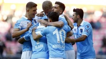 Trabzonspor, Kayserispor'u deplasmanda 2-1 yendi