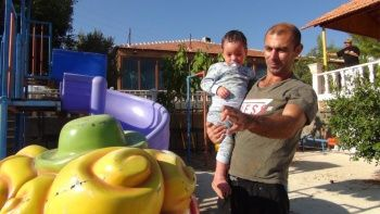 Doktorların 'yaşamaz' dediği bebek şifayı Türkiye'de buldu