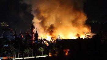 Yakıt tankı patladı! Bodrum'da 5 yıldızlı otelde yangın