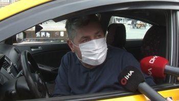 Yolcu seçen taksiciden tuhaf savunma: Taksim'de 50 Euro'ya yolcu taşıyorlar