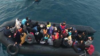 Yunan askerlerden düzensiz göçmenlere işkence iddiası! Türk askeri olmasaydı ölecektik