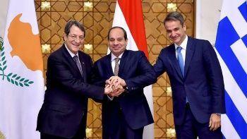 Yunanistan, Mısır ve GKRY liderleri 'Doğu Akdeniz' gündemiyle buluştu, Türkiye'yi suçladı