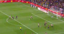 Herkes baktı Messi attı