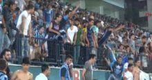 Adana'da oynanan maçta olaylar çıktı