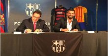 Arda Turan, Barcelona ile  5 yıllık sözleşme imzaladı