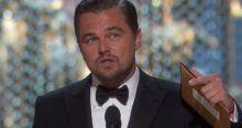 Leonardo Di Caprio altın heykeli sonunda aldı
