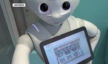 Bu mağazanın çalışanları robot