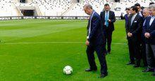 Vodafone Arena'da ilk santra Cumhurbaşkanı Erdoğan'dan