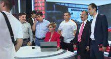 Türki gazetecilerden ziyaret