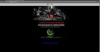 Gülen'in web sitesi hack'lendi