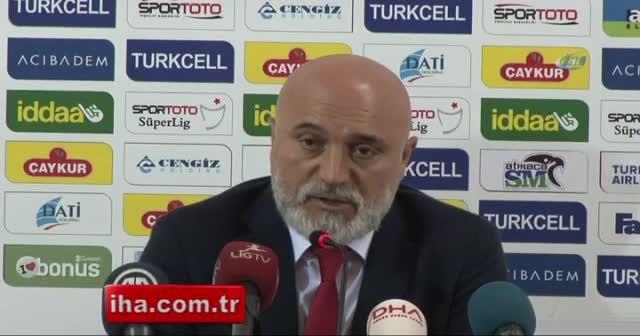 Karaman: 'İyi başladığımız maçı kötü bitirdik'