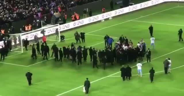 Akyazı'da ilk gol Erdoğan'dan