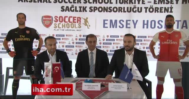 Arsenal'in sağlık sponsoru Emsey