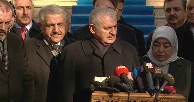 Başbakan Yıldırım terör saldırısı hakkında açıklamalarda bulundu