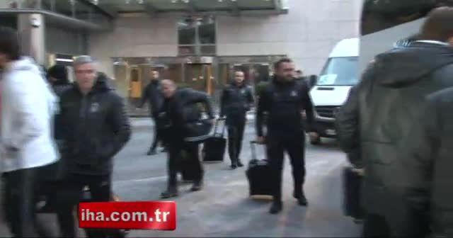 Beşiktaş Kiev'e geldi