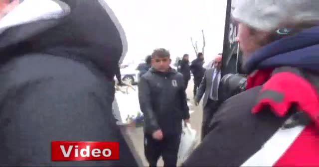 Beşiktaş kupa maçı için Bolu'da