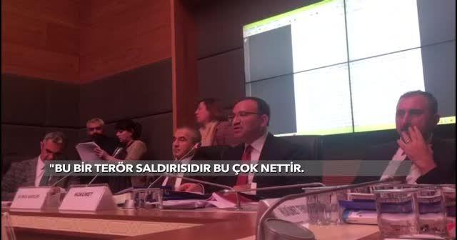 Bozdağ: Türk polisi yapmış gibi göstermek iftiradır