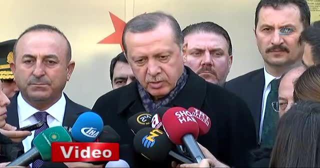 Cumhurbaşkanı Erdoğan'dan saldırıyla ilgili yeni açıklama