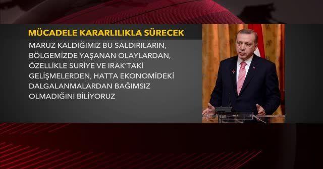 Erdoğan: 'Milli seferberlik ruhuyla hareket edeceğiz'
