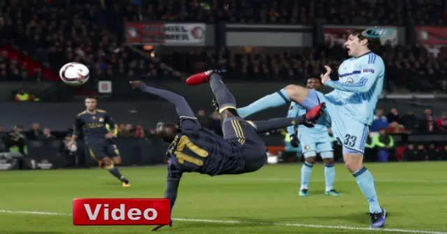 Feyenoord Fenerbahçe UEFA maçı foto özet
