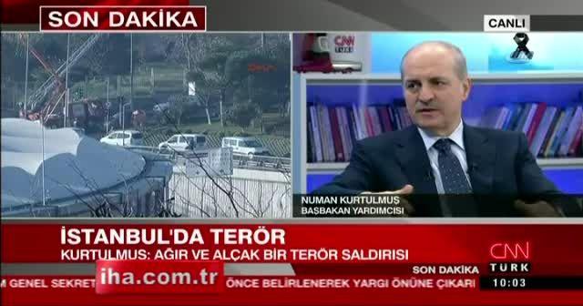 Kurtulmuş saldırıyı yapan terör örgütünü açıkladı