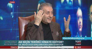 Mehdi Eker TGRT Haber'de yayınlanan 'Gençlerle Büyük Buluşma' programında şiir okudu!