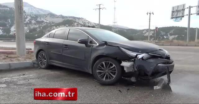 MHP'li vekil Burdur'da kaza yaptı