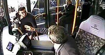 Milli futbolcu Burak Yılmaz otobüs şoförü ile kavga etti