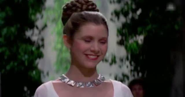 Star Wars prensesini kaybetti