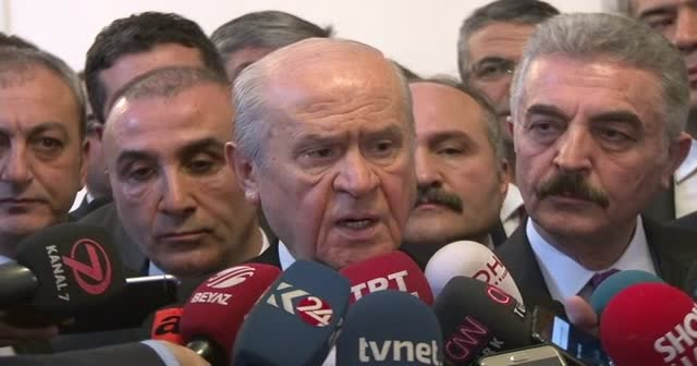 Bahçeli, Kılıçdaroğlu'na suikast iddiası hakkında konuştu